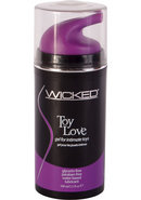 Wicked Toy Love Gel For Toys 3.3 Oz