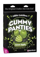 Edible Crotch Gummy Panties Apple