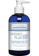 Titanmen Hydro Play Water Glide 8oz
