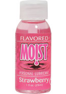 Moist Flavored Strawberry 1oz