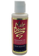 Meltdown Massage Oil 4oz Musk